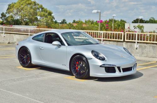 2015 Porsche 911 2 Door Coupe 1 OWNER GTS // FACTORY WARRANTY // 4300 MILES // CHRONO PACKAGE // 3.8