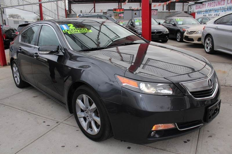2012 Acura TL w/Tech 4dr Sedan w/Technology Package