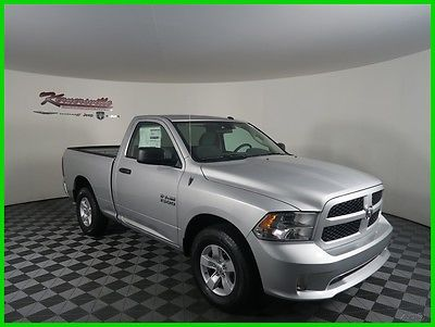 2017 Ram 1500 Express RWD 3.6L V6 Regular Cab Truck Bedliner 2017 RAM 1500 Regular Cab Towing Package Radio 3.0 Bedliner USB AUX 6 Speakers