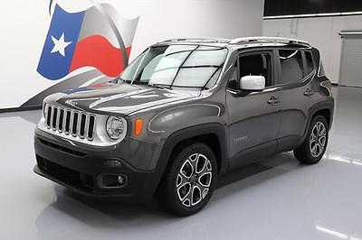 2016 Jeep Renegade Limited Sport Utility 4-Door 2016 JEEP RENEGADE LIMITED REAR CAM HTD LEATHER 13K MI #C69864 Texas Direct Auto