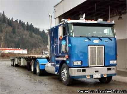 1997 Peterbilt 362E For Sale in Little Fort, British Columbia, Canada V0E2C0