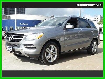 2012 Mercedes-Benz M-Class ML350 2012 ML350 Used 3.5L V6 24V Automatic All Wheel Drive SUV Premium