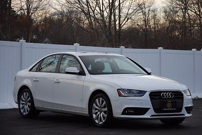 2014 Audi A4 2.0T Sedan quattro Tiptronic 2014 Audi A4, Ibis White with 29087 Miles available now!