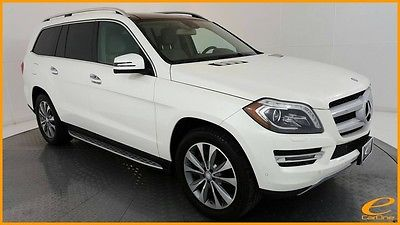 2014 Mercedes-Benz GL-Class GL450 | APPRNCE | P1 | NAV | PANO | BLND SPOT | $1 Mercedes-Benz GL-Class Diamond White Metallic with 47,103 Miles, for sale!
