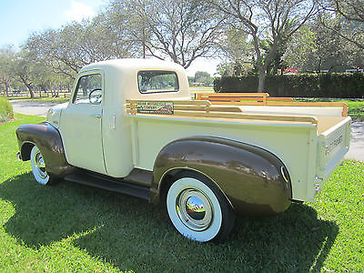 1949 Chevrolet Other Pickups 1949 CHEVROLET PICK UP 3100 FRAME OFF RESTORATION SHORT BED AKE OFFER