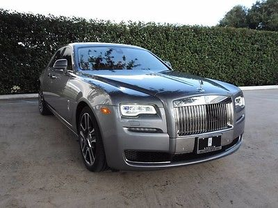 2017 Rolls-Royce Ghost  Jubilee Silver over Moccasin Tan Leather. A Rolls-Royce Classic look!