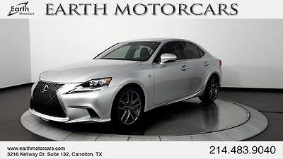 2015 Lexus IS 2015 LEXUS IS250 F-SPORT, CARFAX CERT 1 OWNER, ROOF, BSM, HTD AND COOLED SEATS!