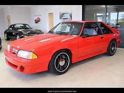 1993 Ford Mustang  1993 Ford Mustang SVT Cobra R 5 Speed Manual 2-Door Hatchback