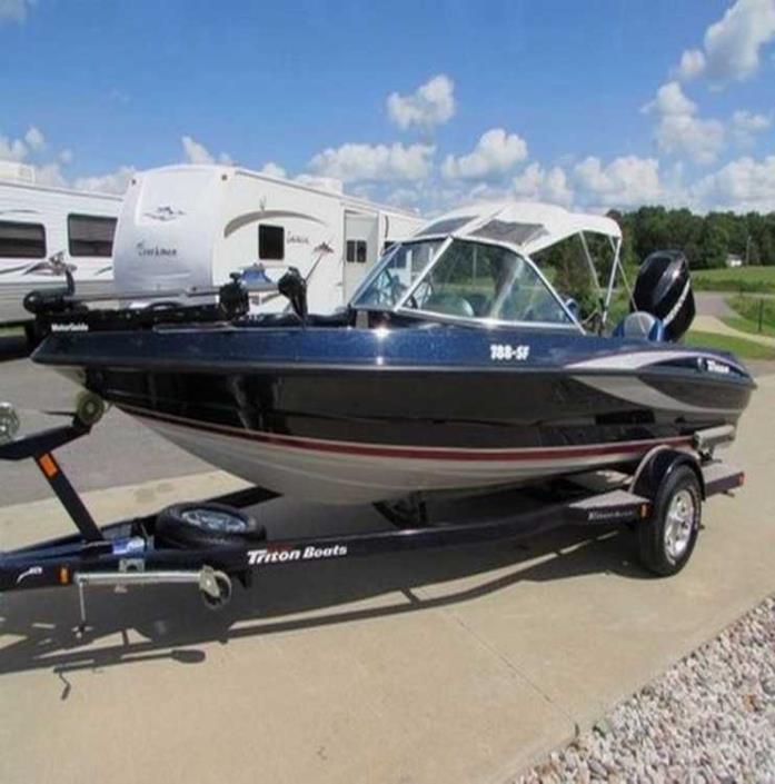 Triton 18 sf vehicles for sale for Triton fish and ski