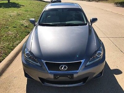 2012 Lexus IS Base Sedan 4-Door 2012 LEXUS IS350, NAV, BACKUP CAMERA,  ONE OWNER,  2.99% wac