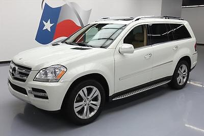 2010 Mercedes-Benz GL-Class Base Sport Utility 4-Door 2010 MERCEDES-BENZ GL450 AWD P2 SUNROOF NAV DVD 39K MI #580416 Texas Direct Auto