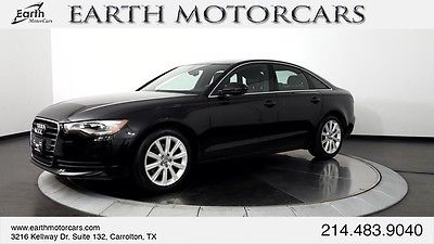 2013 Audi A6 Premium Plus Sedan 4-Door 2013 Audi A6 2.0T Quattro Premium Plus Sedan, NAV, ROOF, BSM, CARFAX 1 OWNER!