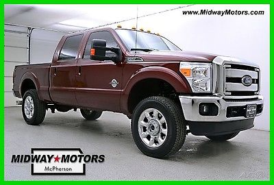 2015 Ford F-350 Lariat 2015 Lariat Used Turbo 6.7L V8 32V Automatic 4WD Pickup Truck