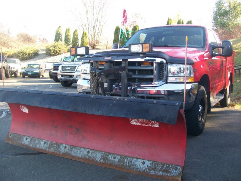 2002 Ford Super Duty F-350 SRW Supercab XLT 4WD Reading Utility Body and Snow Plow