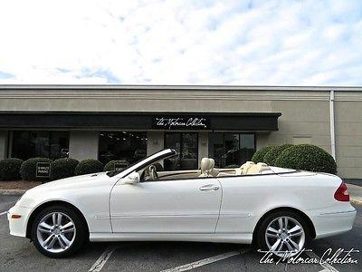 2007 Mercedes-Benz CLK-Class CLK350 Cabriolet ONLY 27K MILES! CLEAN CARFAX CERTIFIED! 2007 MERCEDES BENZ CLK350 CONVERTIBLE!