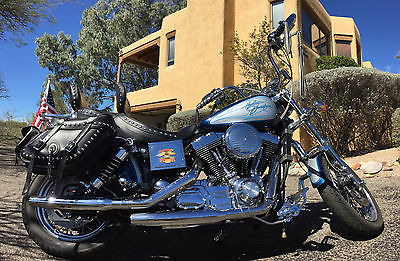 2000 Harley-Davidson Dyna  FXDS Convertible - Low Miles - T-Bag Luggage - Excellent Condition
