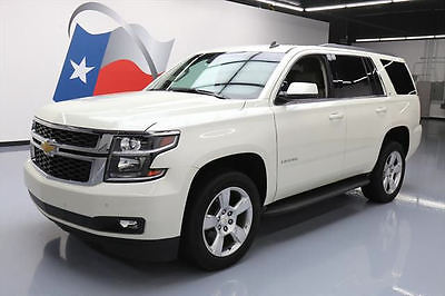 2015 Chevrolet Tahoe LT Sport Utility 4-Door 2015 CHEVY TAHOE LT 8PASS LEATHER DVD REAR CAM 20'S 36K #109522 Texas Direct