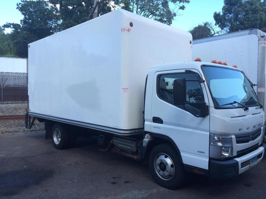 2012 Mitsubishi Fuso Fe160 Box Truck - Straight Truck