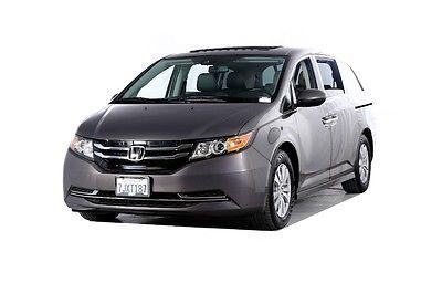 2015 Honda Odyssey EX-L 2015 Honda Odyssey EX-L 27240 Miles Gray 4D Passenger Van 3.5L V6 SOHC i-VTEC 24