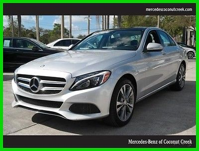 2015 Mercedes-Benz C-Class C300 2015 C300 Used Certified Turbo 2L I4 16V Automatic All Wheel Drive Premium