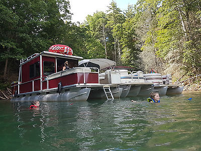 Sun Tracker Party Cruiser Pontoon Houseboat - Must See, Complete Rebuild!