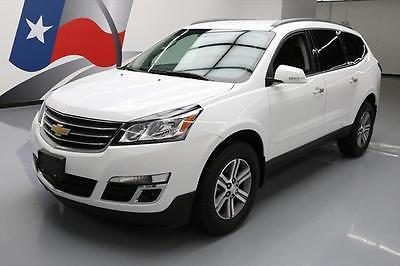 2016 Chevrolet Traverse LT Sport Utility 4-Door 2016 CHEVY TRAVERSE LT HTD SEATS REAR CAM ALLOYS 17K MI #345934 Texas Direct