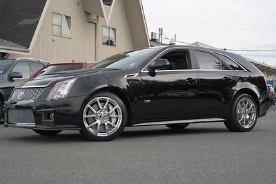 2013 Cadillac CTS Manual Transmission 2013 Cadillac CTS-V Wagon Manual Transmission Black Raven Station Wagon Supercha