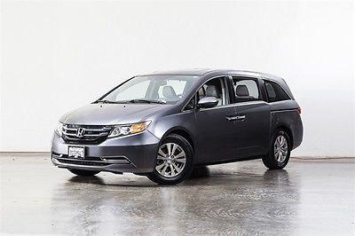 2014 Honda Odyssey EX-L 2014 Honda Odyssey EX-L 23750 Miles Gray 4D Passenger Van 3.5L V6 SOHC i-VTEC 24