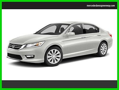 2014 Honda Accord EX-L 2014 EX-L Used 2.4L I4 16V Automatic Front Wheel Drive