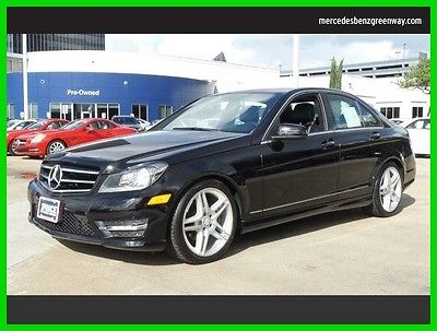 2014 Mercedes-Benz C-Class C250 Sport 2014 C250 Sport Used Certified Turbo 1.8L I4 16V Automatic Rear Wheel Drive