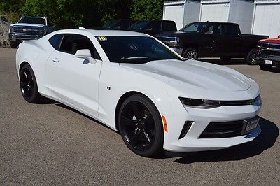 2016 Chevrolet Camaro 1LT 2016 Chevrolet Camaro 1LT 0 Summit White 2D Coupe 3.6L V6 DI 6-Speed Manual