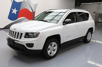 2015 Jeep Compass Sport Sport Utility 4-Door 2015 JEEP COMPASS ALTITUDE CRUISE CTRL ALLOY WHEELS 4K #372208 Texas Direct Auto
