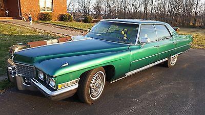 1972 Cadillac DeVille 1972 Cadillac Sedan DeVille
