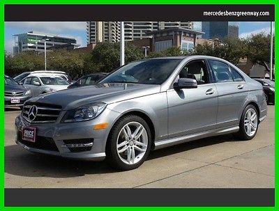 2014 Mercedes-Benz C-Class C250 Sport 2014 C250 Sport Used Certified Turbo 1.8L I4 16V Automatic Rear Wheel Drive LCD