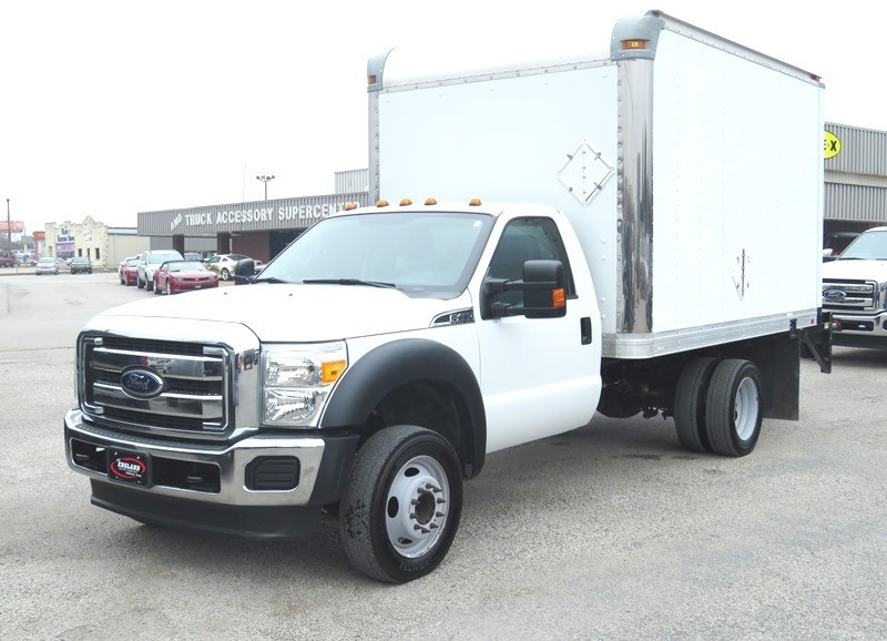 2012 Ford Super Duty F-450 Drw  Box Truck - Straight Truck