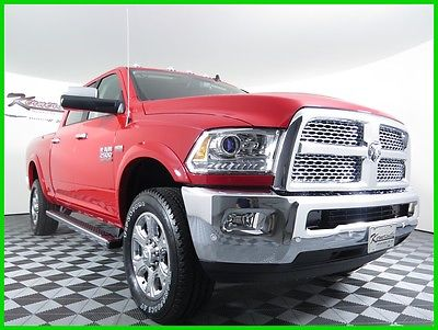 2016 Ram 2500 Laramie 4x4 V8 Mid Duty HEMI Crew Cab Truck Towing 2016 RAM 2500 Laramie 4WD Crew Cab Truck Navigation Leather FINANCING AVAILABLE