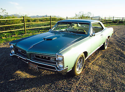 1966 Pontiac GTO  30K Original Documented Miles - Numbers Matching 389 V8 Engine