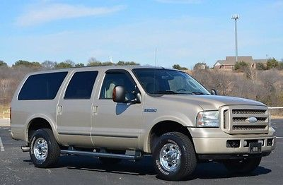 2005 Ford Excursion Limited Diesel 4x4 2005 Excursion Limited Diesel 4x4 Exceptional 2 Owner Low Miles! This Is THE One
