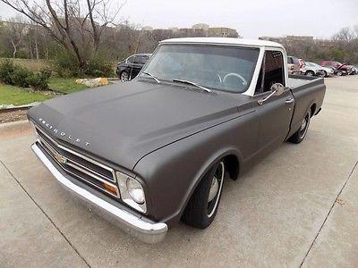 1967 Chevrolet C-10 -- 1967 Chevrolet C10 White/Gray