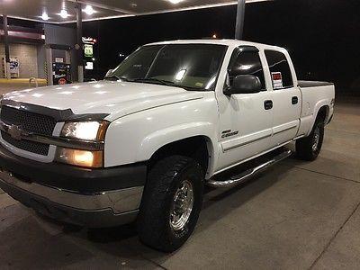2003 Chevrolet Silverado 2500 LS 2003 Chevrolet silverado 2500 HD Duramax Diesel 4wd 4x4 crew cab short bed
