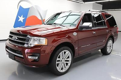 2015 Ford Expedition 2015 FORD EXPEDITION KING RANCH ECOBOOST SUNROOF NAV #F01919 Texas Direct Auto