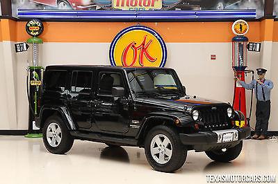 2012 Jeep Wrangler Sahara 2012 Black Sahara!