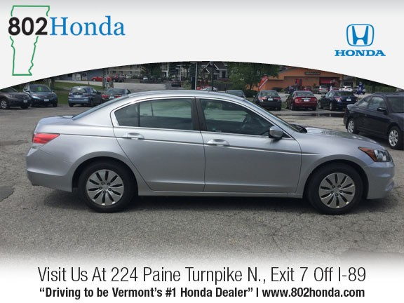 2012 Honda Accord 2.4 LX