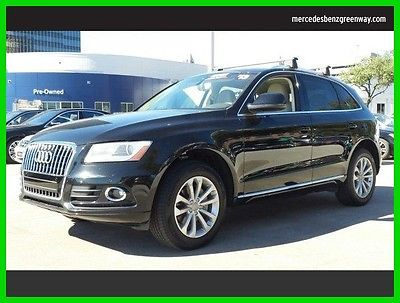 2013 Audi Q5 Premium Plus 2013 Premium Plus Used Turbo 2L I4 16V Automatic All Wheel Drive SUV Premium