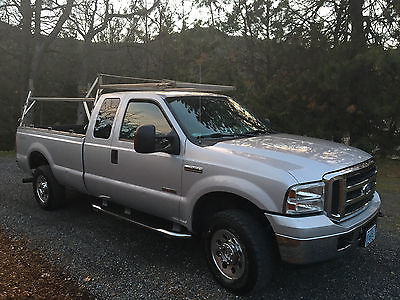2005 Ford F-250 XKT 2005 Ford F-250 XLT Extended Cab Pickup 4-Door 6.0L Turbo Stainless Steel Rack