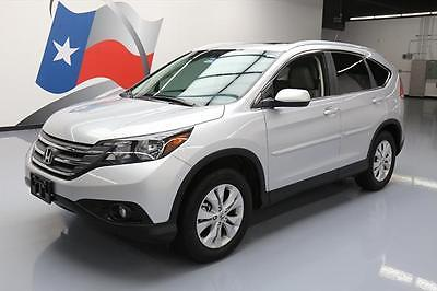 2014 Honda CR-V 2014 HONDA CR-V EX-L SUNROOF REAR CAM HTD LEATHER 38K #523115 Texas Direct Auto