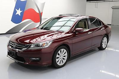 2014 Honda Accord 2014 HONDA ACCORD EX-L SUNROOF HTD LEATHER REAR CAM 61K #071018 Texas Direct