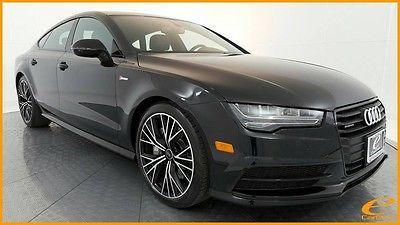2016 Audi A7 AWD | PREMIUM PLUS | S LINE | BLACK OPTIC | NAV | Mythos Black Metallic Audi A7 with 8,808 Miles available now!