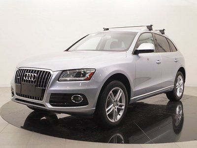 2016 Audi Q5 2.0T Premium Plus quattro 2016 Audi Q5, Silver with 9191 Miles available now!