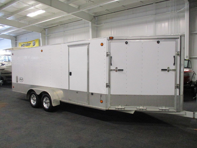 Aluminum Snowmobile Trailer V Nose Motorcycles For Sale
